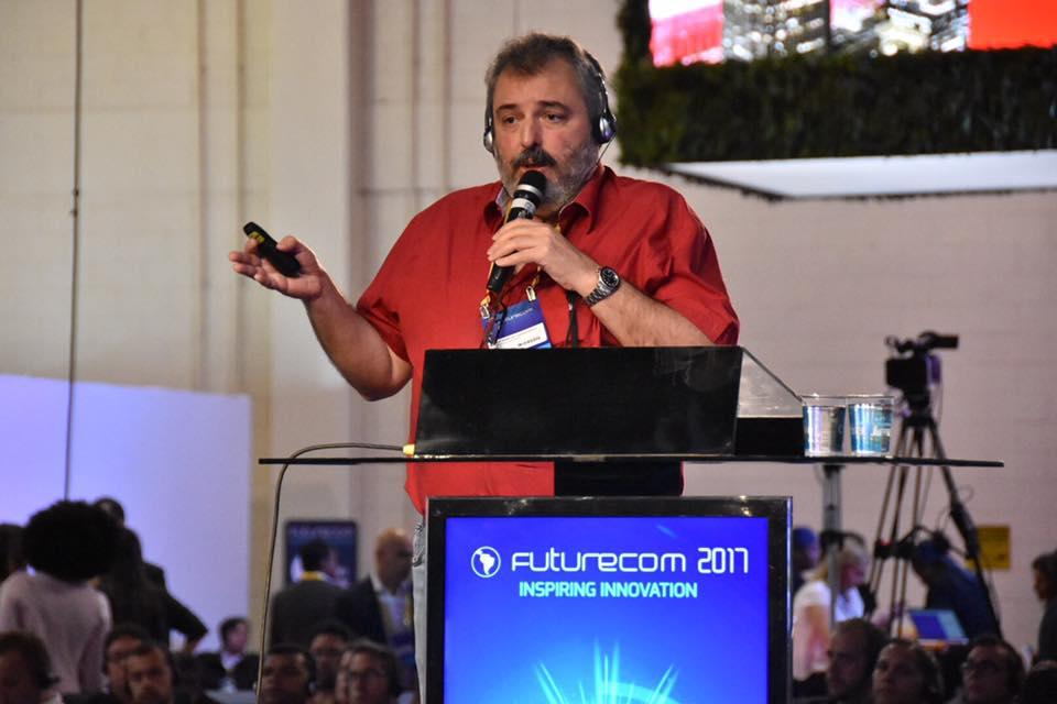 José Marcos Camara Brito no evento Futurecom 2017