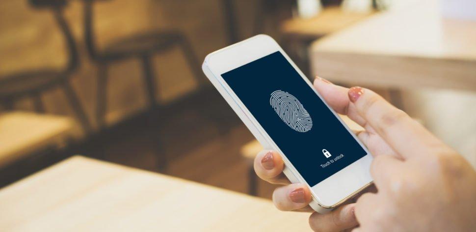Biometria é o meio mais usado para desbloqueio de celulares