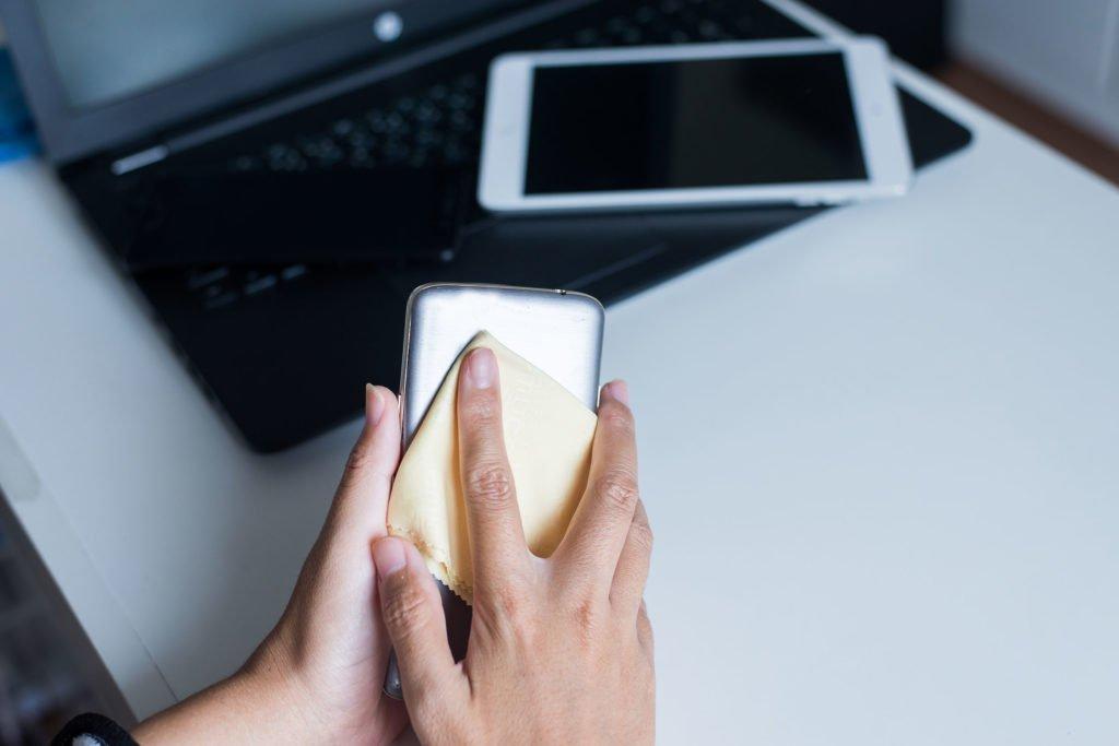 como limpar o celular