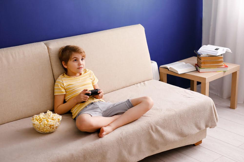 video game crianca